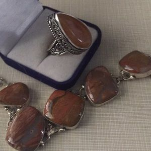 Jewelry - Beautiful fall colors Jasper set